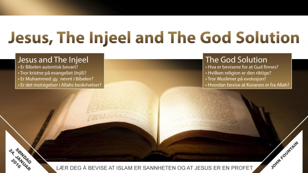 Jesus, The Injeel and The God Solution